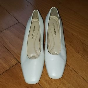 Naturalizer white shoes